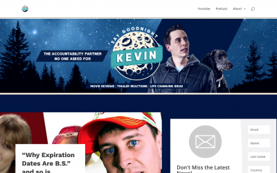 Welcome to the new Say Goodnight Kevin website!